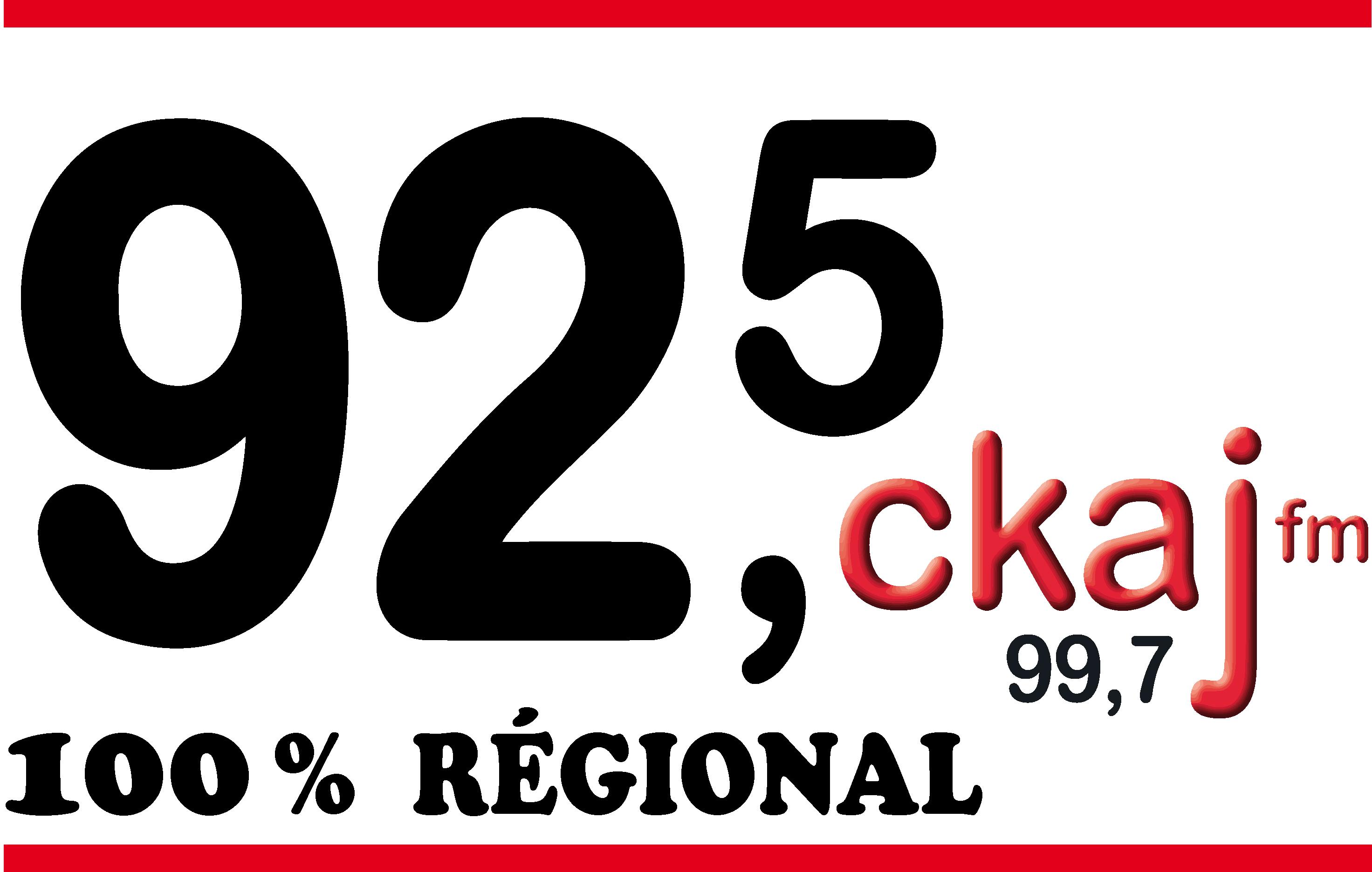 logo de Entreprise Radio communautaire du Saguenay inc. CKAJ 92,5