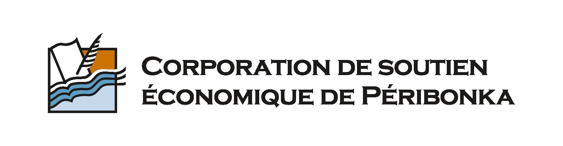 logo de Corporation de soutien économique de Péribonka