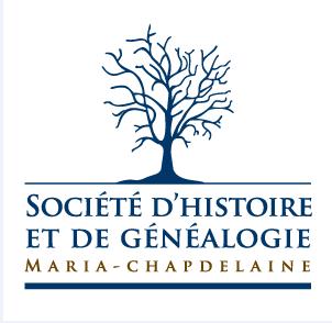 logo de Société d'histoire et de généalogie de Maria-Chapdelaine